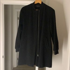Women's Zara mid length bomber jacket